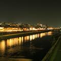 写真: 夏夜鴨川