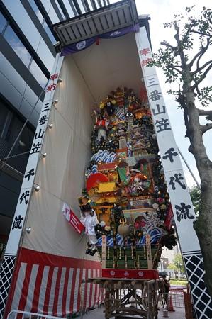 博多祇園山笠 2017年 飾り山 千代流 がんばろう熊本 (9)
