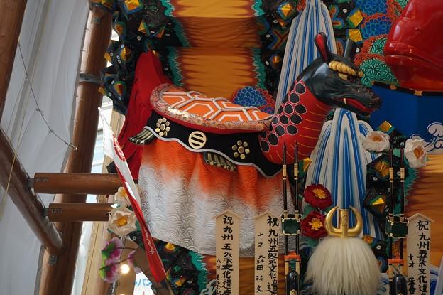 博多祇園山笠 2017年 博多駅商店連合会 飾り山 祝 九州五祭文化遺産登録 (14)