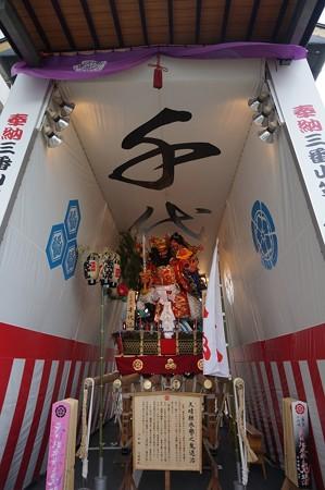 博多祇園山笠 2017年 舁き山 千代流 天晴継承譽之鬼退治 (7)
