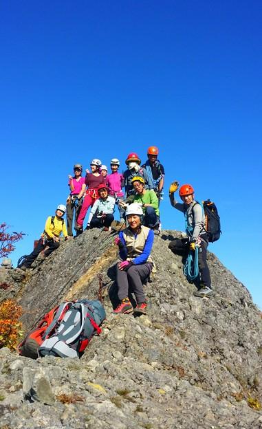 日本の山 アドバンストコース 八海山・八ツ峰縦走 (15)