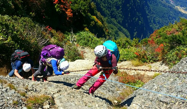 日本の山 アドバンストコース 八海山・八ツ峰縦走 (17)