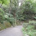 平山季重神社登口