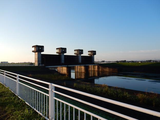 福川の水門
