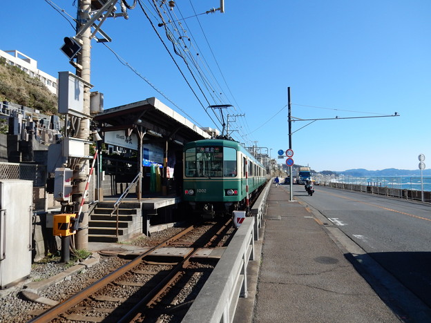 鎌倉高校前駅 江ノ電