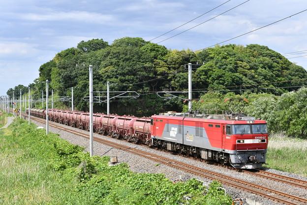 貨物列車、安中貨物 (EH500-27)