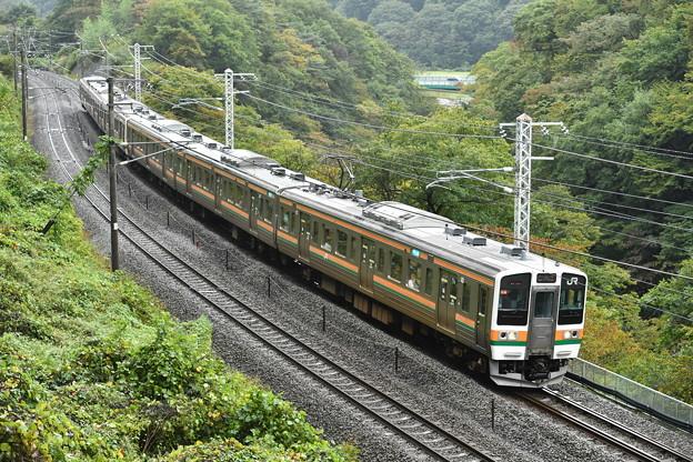 上越線 普通列車 727M (211系)