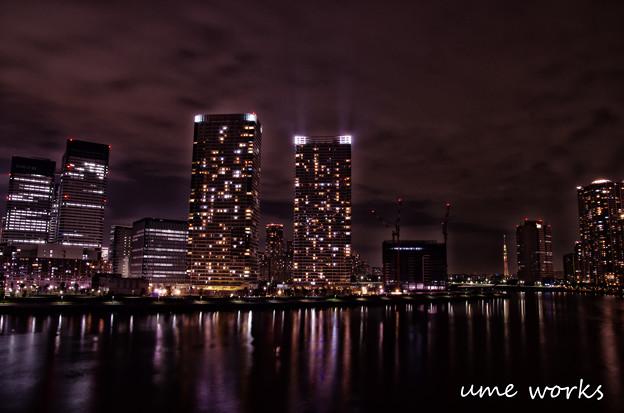 東京百景 晴海夜景