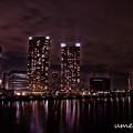 写真: 東京百景 晴海夜景