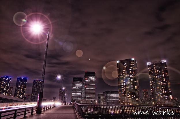 東京百景 晴海大橋夜景
