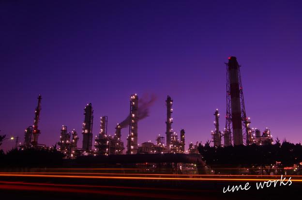 鹿島 工場夜景