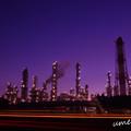 写真: 鹿島 工場夜景