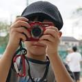 Photos: 未来のカメラマン