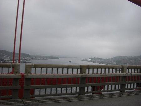 若戸大橋より