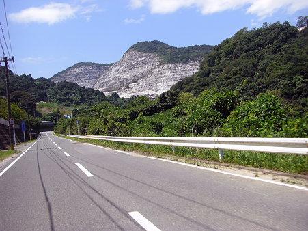 k64沿いの採石場