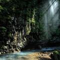 写真: 光の演出