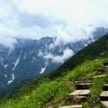 八方尾根の登山道