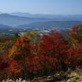 秋 横谷の眺望