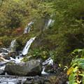吐竜の滝の沢