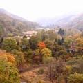 内山峡の紅葉1