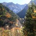 高瀬渓谷の紅葉2