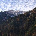 高瀬渓谷の山