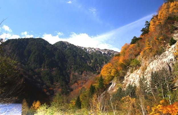 高瀬渓谷の紅葉7
