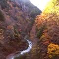 高瀬渓谷の紅葉11