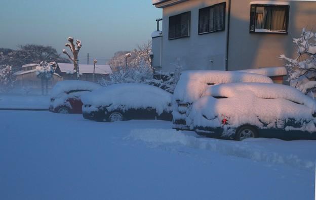 車への積雪