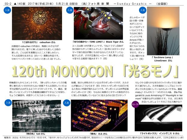 第120回モノコン作品紹介席(2/2)