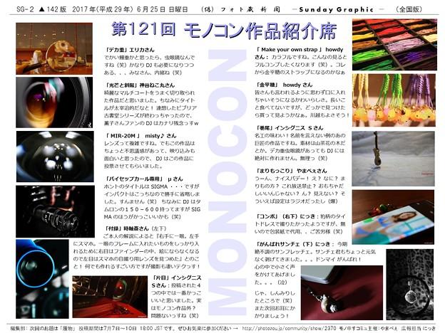 第121回モノコン作品紹介席(2/2)