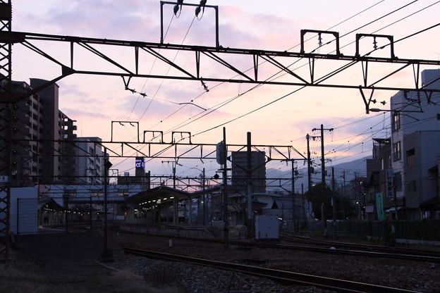 尾道灯りまつり2017 尾道駅