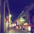 写真: 上野の道