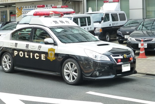 2017・6・24   警視庁パトカー