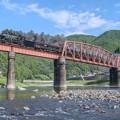写真: 球磨川第一橋梁