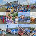 写真: お法師祭collage