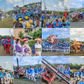 Photos: お法師祭collage