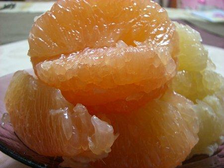 むきむきグレープフルーツ