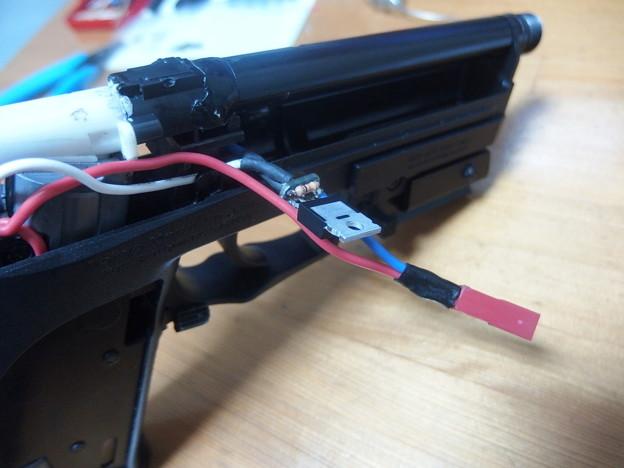 USP用FET(4) 回路を作り取り付け