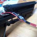 写真: USP用FET(4) 回路を作り取り付け