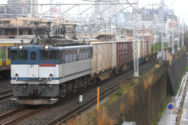 1091レ EF65 2086+コキ