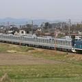 臨貨8022レ デキ301+東京メトロ13000系13103F 7両+デキ504
