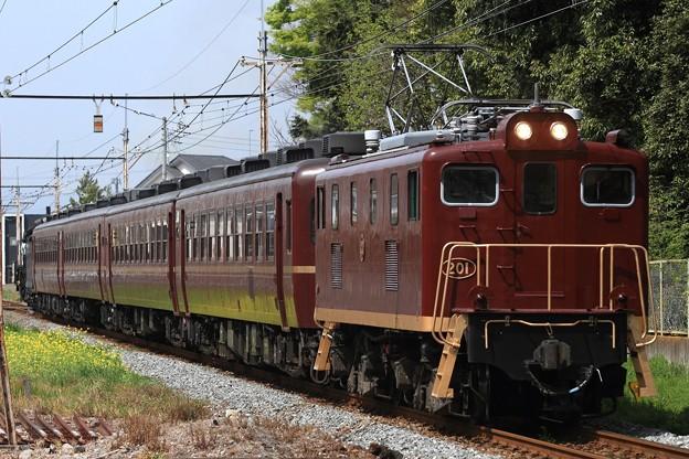 回5102レ デキ201+12系 4両+C58 363