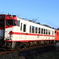 Photos: 423D キハ40-592+キハ40-590