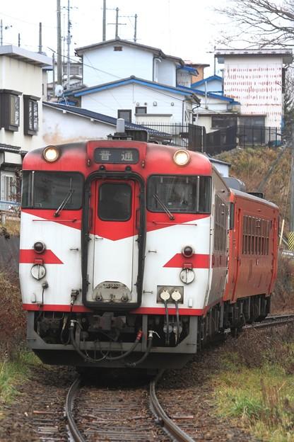 435D キハ40-592+キハ40-590