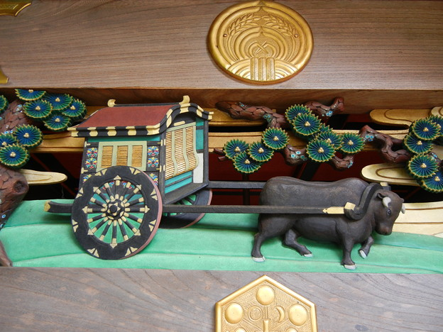 牛車-武蔵野稲荷神社 (練馬区栄町)