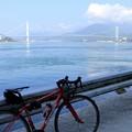 写真: とびしま(上蒲刈島から安芸灘大橋)