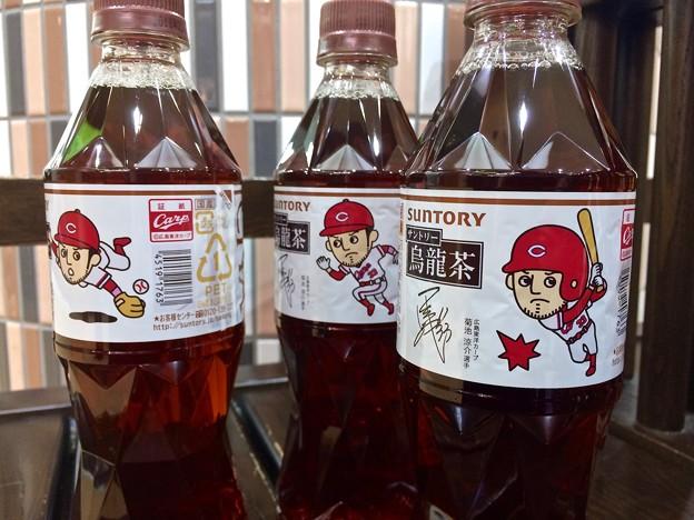 サントリー烏龍茶 広島東洋カープ 菊池涼介ボトル 数量限定 中国四国エリア限定