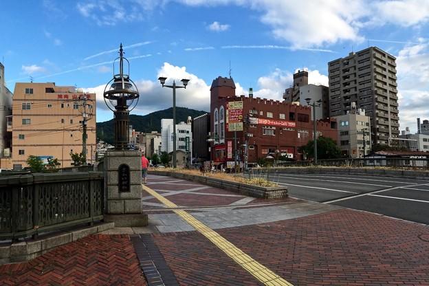 五月橋 西詰 呉市中央3丁目 2016年8月27日