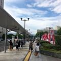 県庁前バス停 広島市中区基町 2017年6月30日